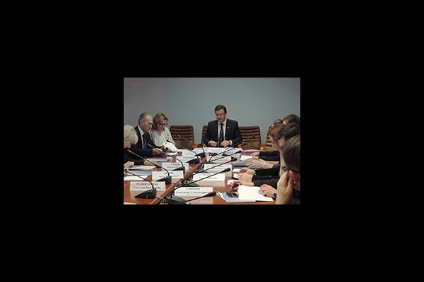 Екатерина Шугрина приняла участие в заседании Оргкомитета по подготовке и проведению Всероссийского урока местного самоуправления