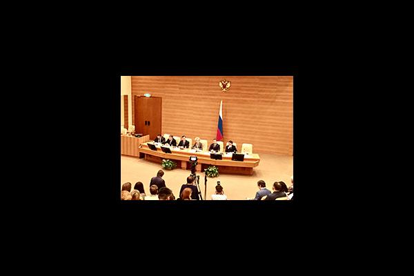 Роман Петухов выступил на семинаре для руководителей правовых служб законодательных и исполнительных органов государственной власти субъектов РФ