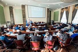 Екатерина Шугрина приняла участие в мероприятиях первого съезда представительных органов Якутии