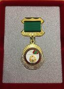 Екатерина Шугрина награждена Почётным знаком Центральной избирательной комиссии Приднестровской Молдавской Республики «За заслуги в организации выборов»