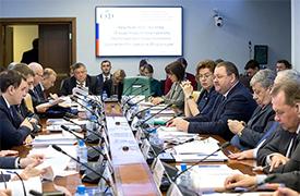 Екатерина Шугрина приняла участие в обсуждении проекта стратегии пространственного развития Российской Федерации