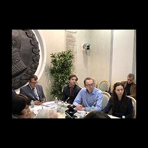 Сотрудники Центра местного самоуправления приняли участие в обсуждении территориальных преобразований муниципальных образований в Общественной палате РФ