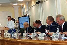 Екатерина Шугрина выступила в Совете Федерации на заседании Совета по местному самоуправлению