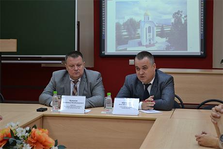 Кировский филиал: круглый стол с участием главы администрации города И. Шульгина
