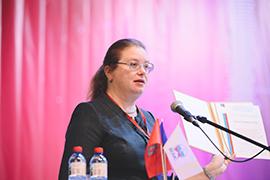 Екатерина Шугрина выступила на Сибирском муниципальном форуме