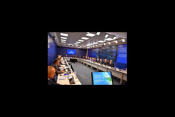 Екатерина Шугрина приняла участие в работе расширенного заседания президиума ОКМО