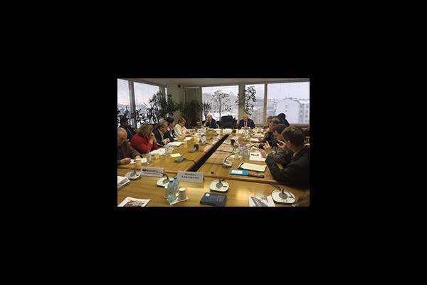 Екатерина Шугрина выступила на заседании экспертного совета Общенациональной ассоциации ТОС