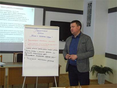 Нижегородский институт управления: механизмы реализации национальных проектов обсудили на занятии Школы муниципального служащего