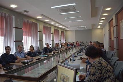 Алтайский филиал: обсудили участие населения в местном самоуправлении