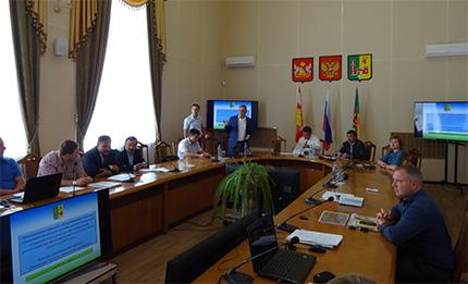 Воронежский филиал: в Рамони состоялась защита приоритетных проектов развития района