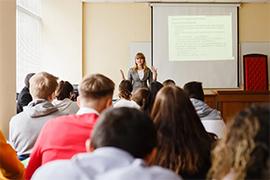 Ксения Иванова провела мастер класс на тему «Компетенция органов местного самоуправления»