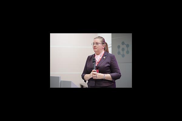 Екатерина Шугрина выступила на форуме «Сибирский муниципальный диалог»