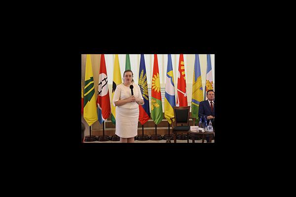 Екатерина Шугрина выступила с открытой лекцией на сессии Совета региональных, местных властей и сообществ