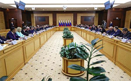 Заседание Совета по развитию местного самоуправления