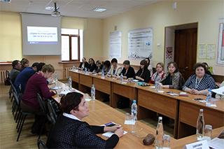 Владимирский филиал: представители муниципальных образований приняли участие в семинаре-практикуме